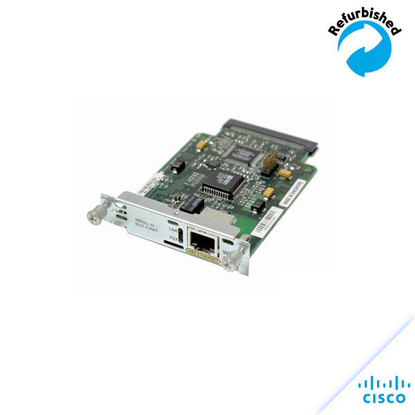Cisco 1-Port Ethernet WAN Interface Card WIC-1ENET