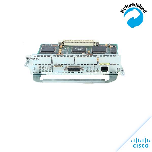 Cisco FE-PRI 1FE-1CE1-B/U 1-port Fast Ethernet / ISDN PRI