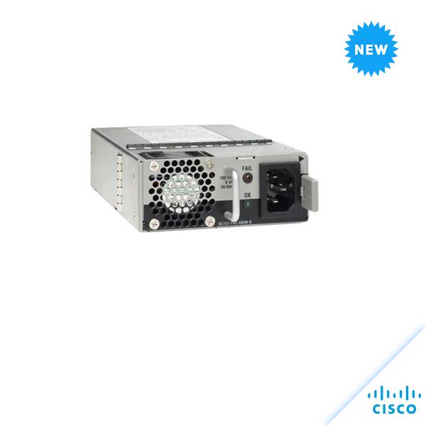 Cisco Nexus 2200 AC Power supply (Std airflow, port side exhaust N2200-PAC-400W