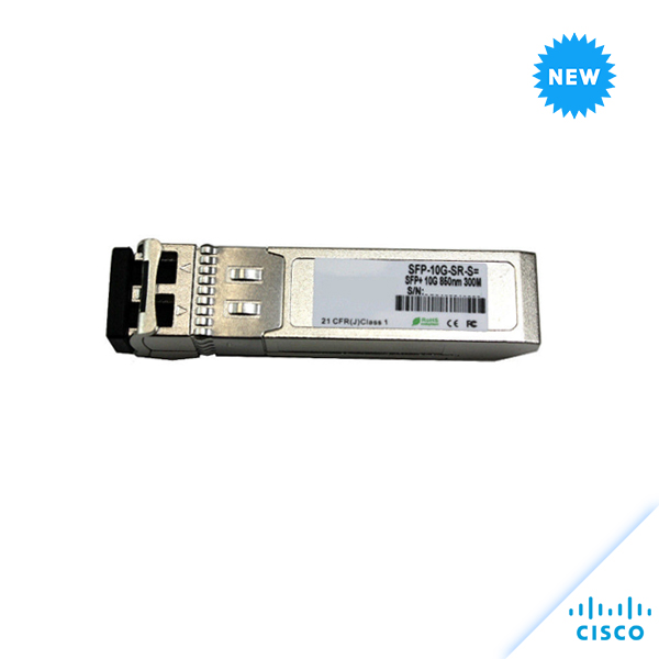 CISCO 10GBase-SR SFP+ 850nm 300m 10-3105-01 SFP-10G-SR-S=