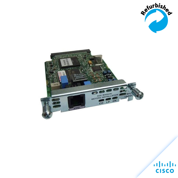 Cisco 1-port ADSL WAN interface Card WIC-1ADSL