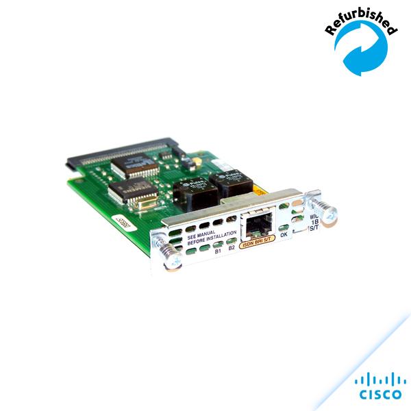 Cisco 1-port ISDN BRI S/T WAN Interface Card WIC-1B-S/T