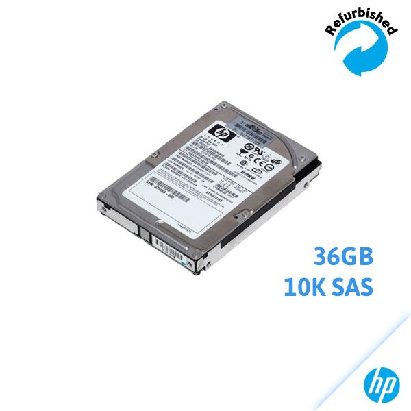 HP 36GB 2.5-inch SFF SAS 3Gb/s 10K RPM DG036A8B53 375696-001