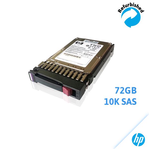 HP 72GB 2.5-inch SFF 10K RPM DG072BABCE 460850-001