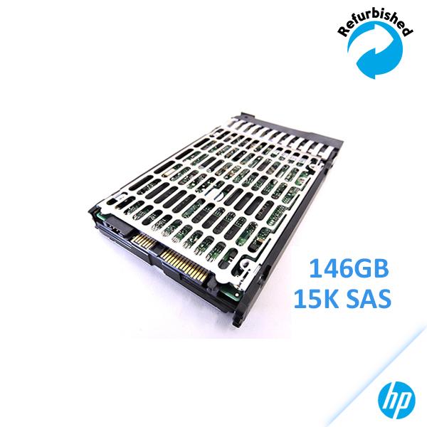 HP 146GB 2.5-inch SFF SAS 6Gb/s 15K RPM EH0146FBQDC /w Bracket