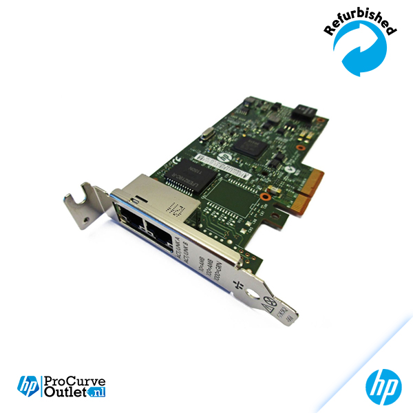 HP NC361T Dual Gigabit PCI-E Server NIC 656241-001