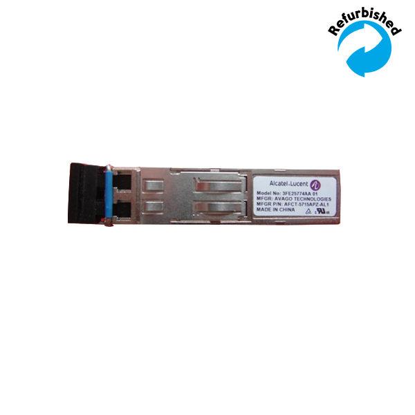 Alcatel-Lucent Avago Gigabit LX LC SFP Transceiver AFCT-5715APZ-AL1