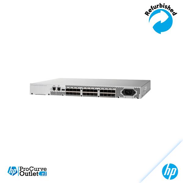 HPE 8/8 Base (0) e-port SAN Switch AM866A
