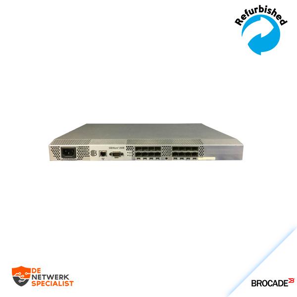 Brocade Silkworm 16-Port 4Gb FC Fibre Channel Switch BR-220E-R0001
