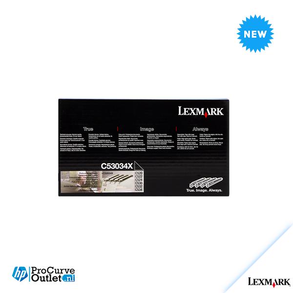 New Lexmark C53034X photoconductor 4pack Sealed = C520/C522/C524/C530/C532/C534
