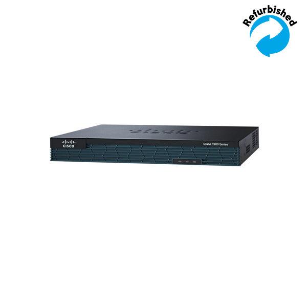Cisco C1921 Modular Router 2 GE 2 EHWIC slots 512DRAM SEC License PAK CISCO1921-SEC/K9