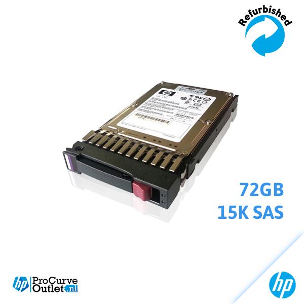HP 72GB 15K SAS in Bracket DH072ABAA6