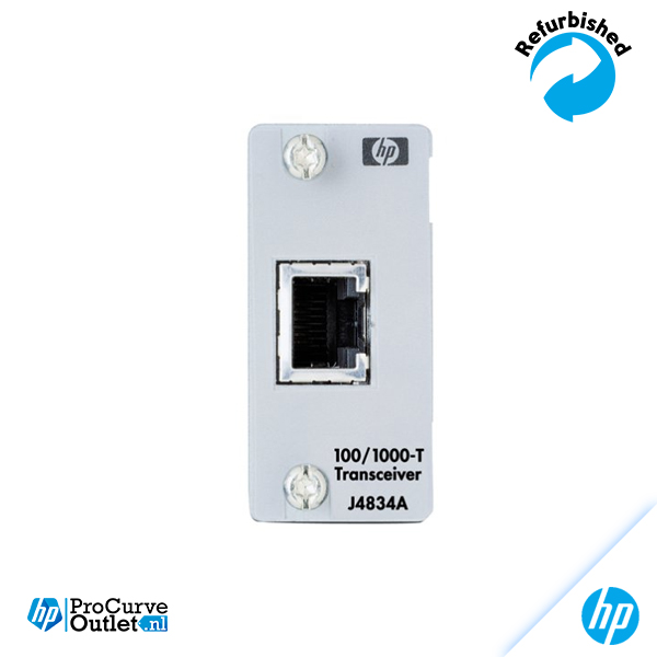 HP ProCurve Gigabit 100/1000 T module J4834A