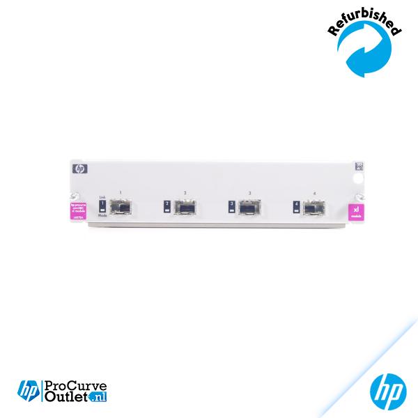 HP ProCurve Switch xl 4-port Mini-GBIC Module J4878A