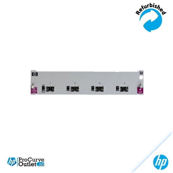HP ProCurve xl 4-Port Mini-GBIC Module J4878B 808736194839