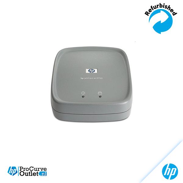 HP JETDIRECT EN3700 External Print Server USB/w Poe Supply & USB Cable J7942A