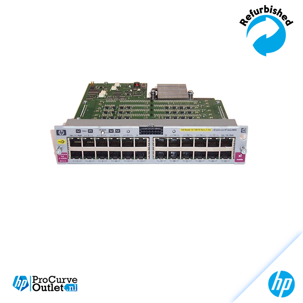 HP ProCurve xl 24-Port 10/100-TX PoE Module J8161A