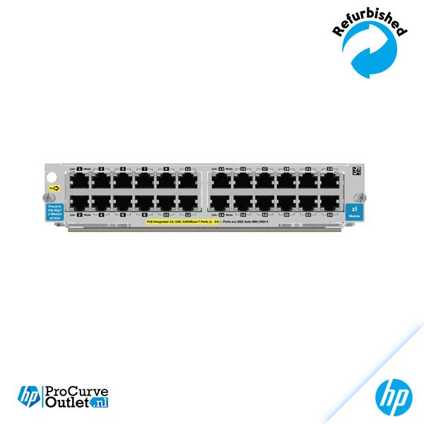 HP 24-port 10/100/1000 PoE zl Module J8702A 882780284630
