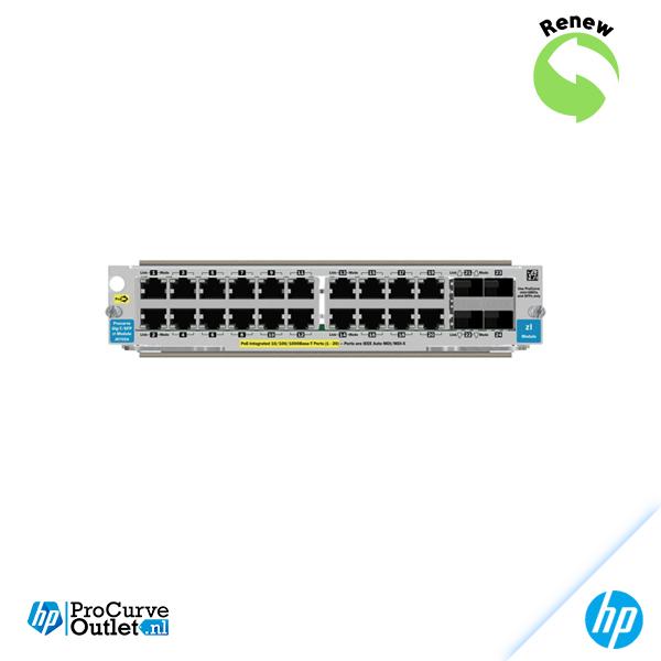 HP ProCurve 20-Port Gb zl, 4x sfp slots J8705AR