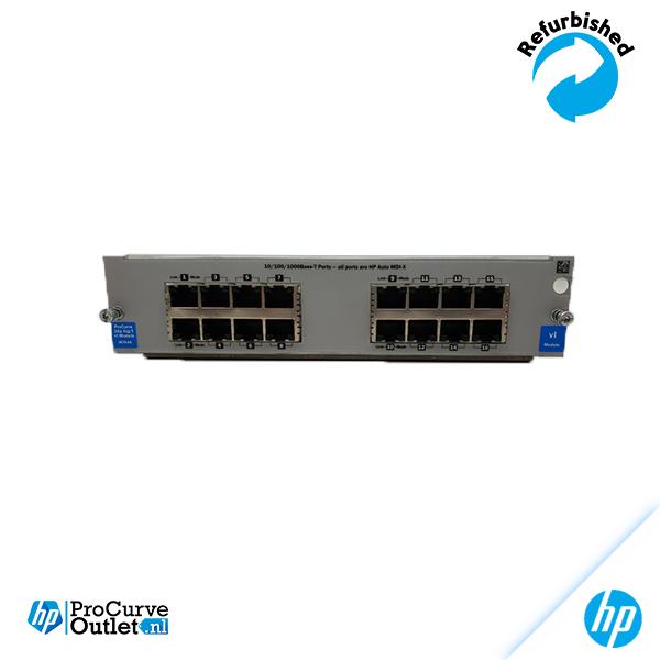 HP ProCurve vl 16-Port Gig-T Module J8764A 882780272545