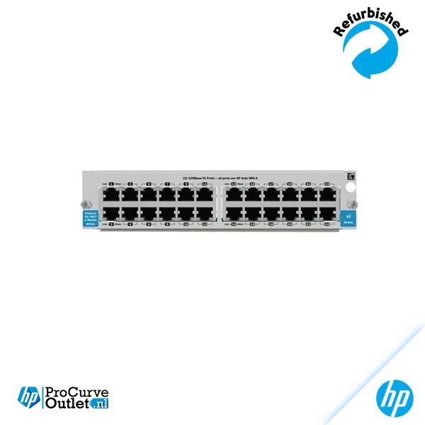 HP ProCurve Switch vl 24-Port 10/100-TX Modules J8765A 882780272552