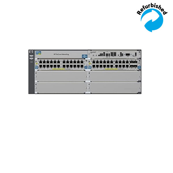 HP ProCurve 5406zl-48G-PoE+ Switch Bundle J9447A 0882780284517