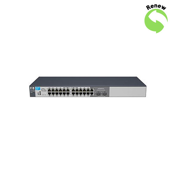 HP ProCurve 1810G-24 24xGigabit Switch, J9450AR 5052179846571