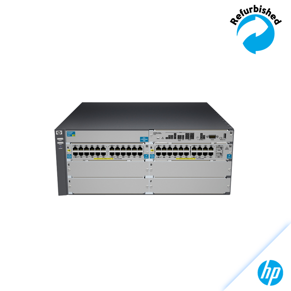 HP 5406-44G-PoE+-2XG v2 zl Switch with Premium Software J9533A 5711045408595