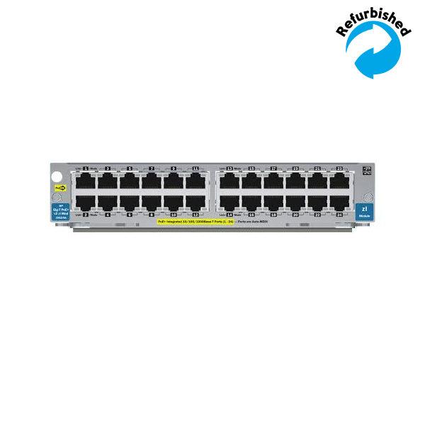 HP 24-port Gig-T PoE+ v2 zl Module J9534A 0885631940839