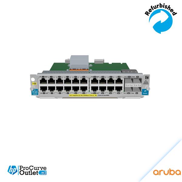 Aruba 20-port Gig-T PoE+/4-port SFP v2 zl Module J9535AA