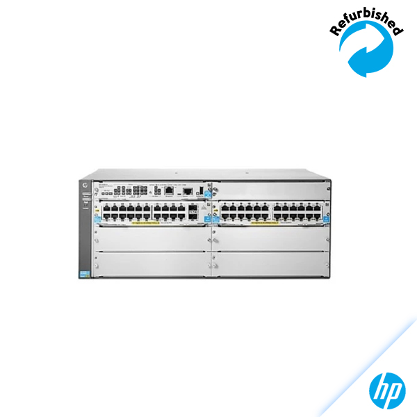 HP 5406-44G-PoE+-4G-SFP v2 zl Switch with Premium Software J9539A 0885631941003