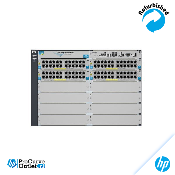 HP 5412-92G-PoE+-4G v2 zl Switch with Premium Software J9540A