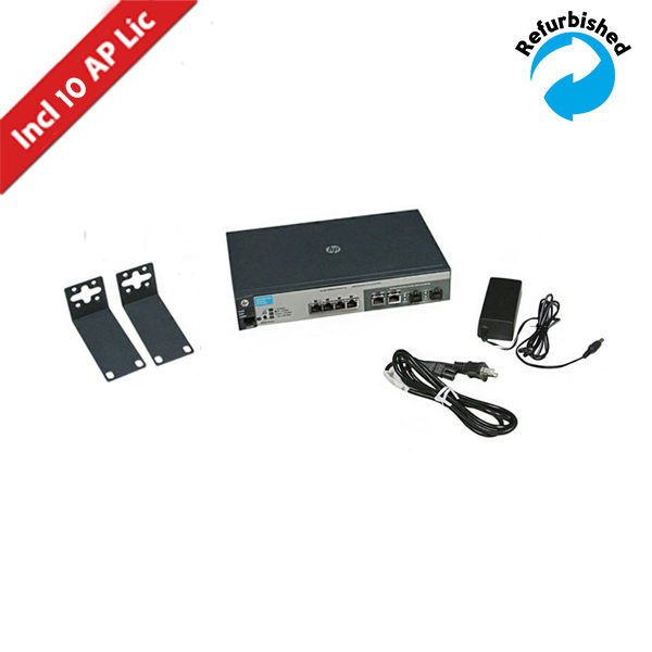 HP MSM720 Controller Series w/10 Lic J9693A 0886111664986