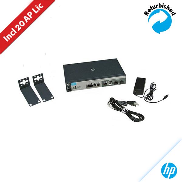 HP MSM720 Controller Series w/20 Lic J9693A