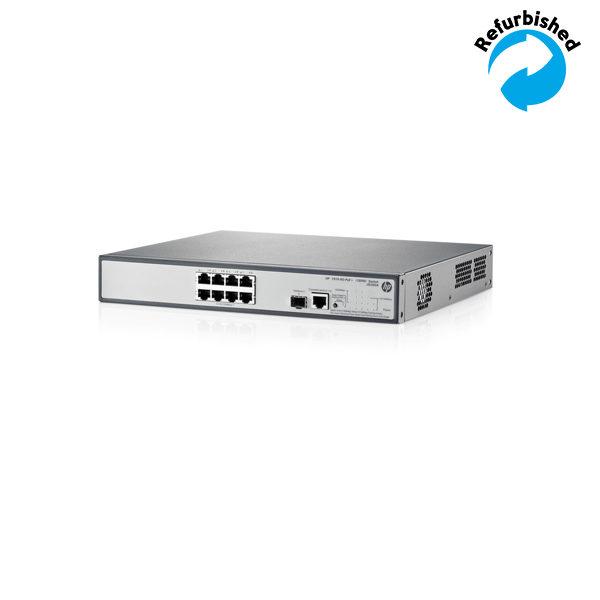 HP 1910-8G-PoE+ 180W Switch JG350A 0886112619626