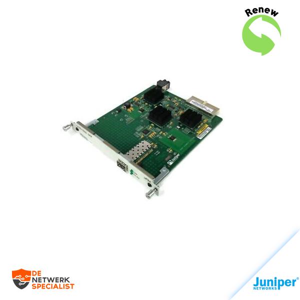 Juniper JXU-1SFP-S 1-Port Gigabit SFP Ethernet I/O Card