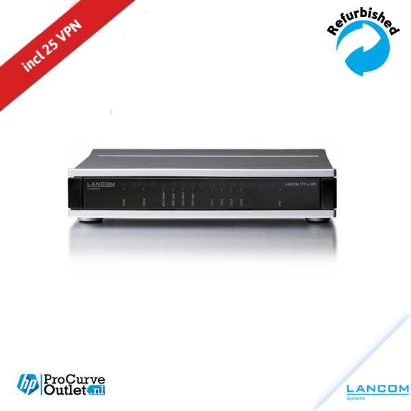 LANCOM 1711+ VPN DSL Router incl 25 VPN license