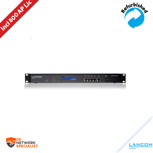 LANCOM WLC-4100 Wireless LAN Controller/w 700 AP Licentie (Total 800 AP's)