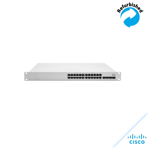 Cisco Meraki Cloud Managed MS220-24P Switch 24G MS220-24P-HW