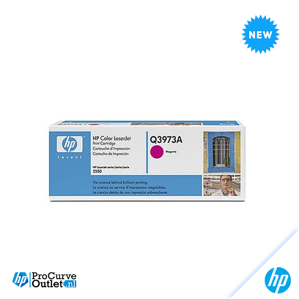 New HP Magenta Original LaserJet Toner Cartridge Q9703A OPEN BOX