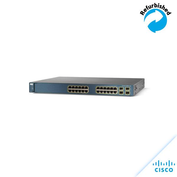 Cisco Catalyst 3560 24 10/100 + 2 SFP WS-C3560-24TS-S