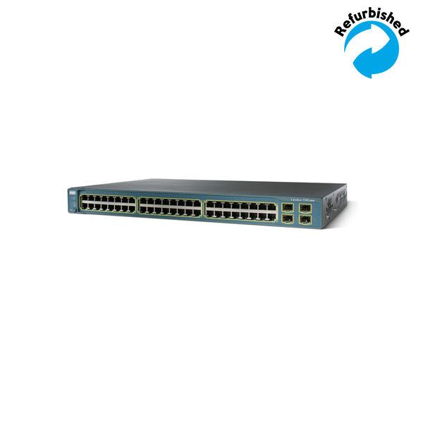 Cisco Catalyst 3560 48 10/100 + 4 SFP WS-C3560-48TS-E