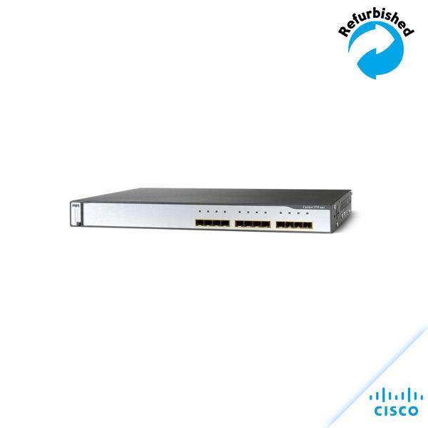 Cisco Catalyst 3750 12xSFP IPB Image WS-C3750G-12S-S